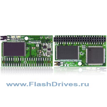 модуль Flash DOM Transcend 2ГБ IDE 44Pin (Horizontal)
