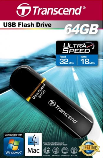 usb-flash drive / флешка 64 ГБ Transcend  JetFlash 600