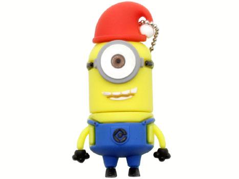 флешка 8Гб Minions, Стюарт в шапке (из мультика)