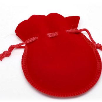 мешочек бархатный подарочный (красный)